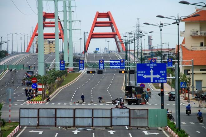 Đường Tân Sơn Nhất - Bình Lợi - Vành đai ngoài trước ngày thông xe