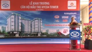 Phim khai trương căn hộ mẫu The Hyco4 Tower