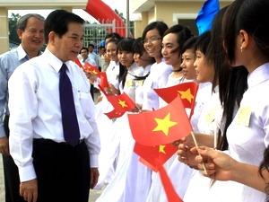 Chủ tịch nước dự khánh thành Trường PT Dân tộc nội trú Him Lam