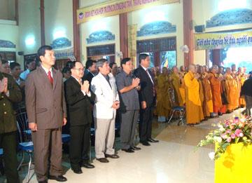 Tổng Giám đốc Công ty CP Him Lam dự lễ khánh thành chùa Bảo Tịnh (Tp Tuy Hòa, tỉ…