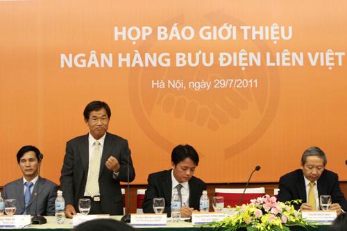 Thay đại diện vốn góp của VietnamPost tại LienVietPostBank