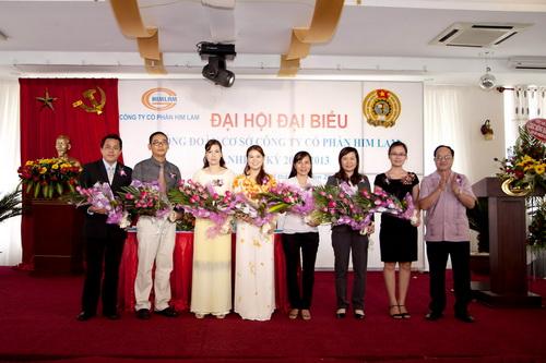 Công đoàn công ty tổ chức Đại hội lần thứ 5 nhiệm kỳ 2011-2013