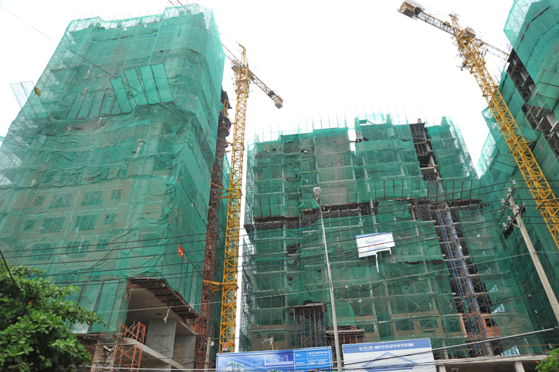 Tiến độ một số dự án căn hộ tại TP HCM