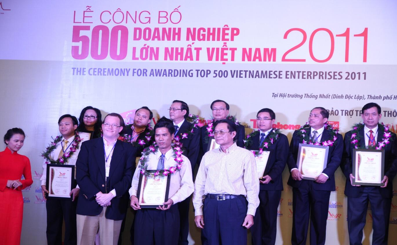 Công ty Cổ phần Him Lam được vinh danh trong bảng xếp hạng VNR500 - Top 500 doan…